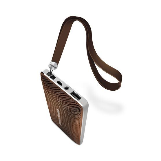 Esquire Mini - Brown - Wireless, portable speaker and conferencing system - Detailshot 1