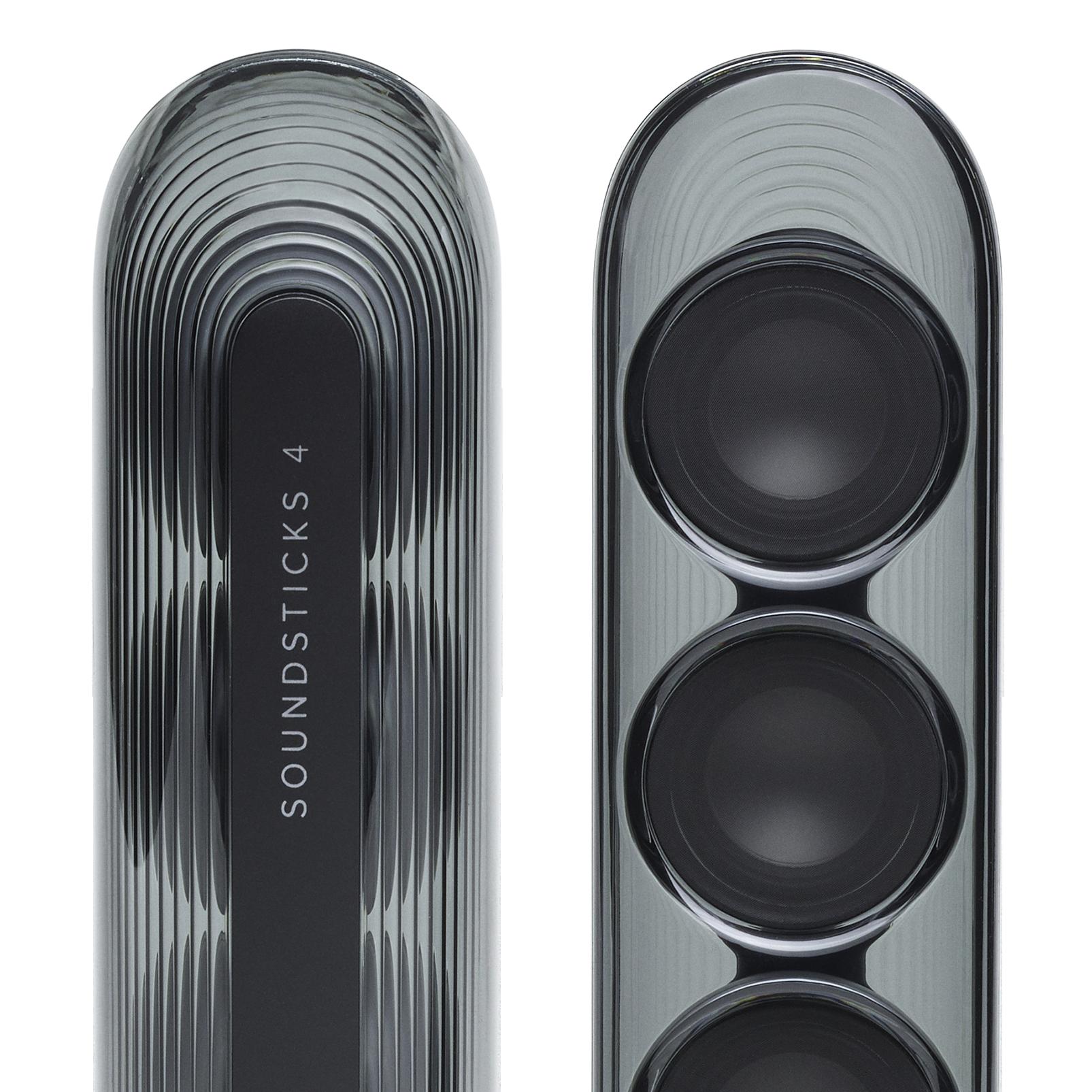 Harman Kardon SoundSticks 4 - Black - Bluetooth Speaker System - Detailshot 4