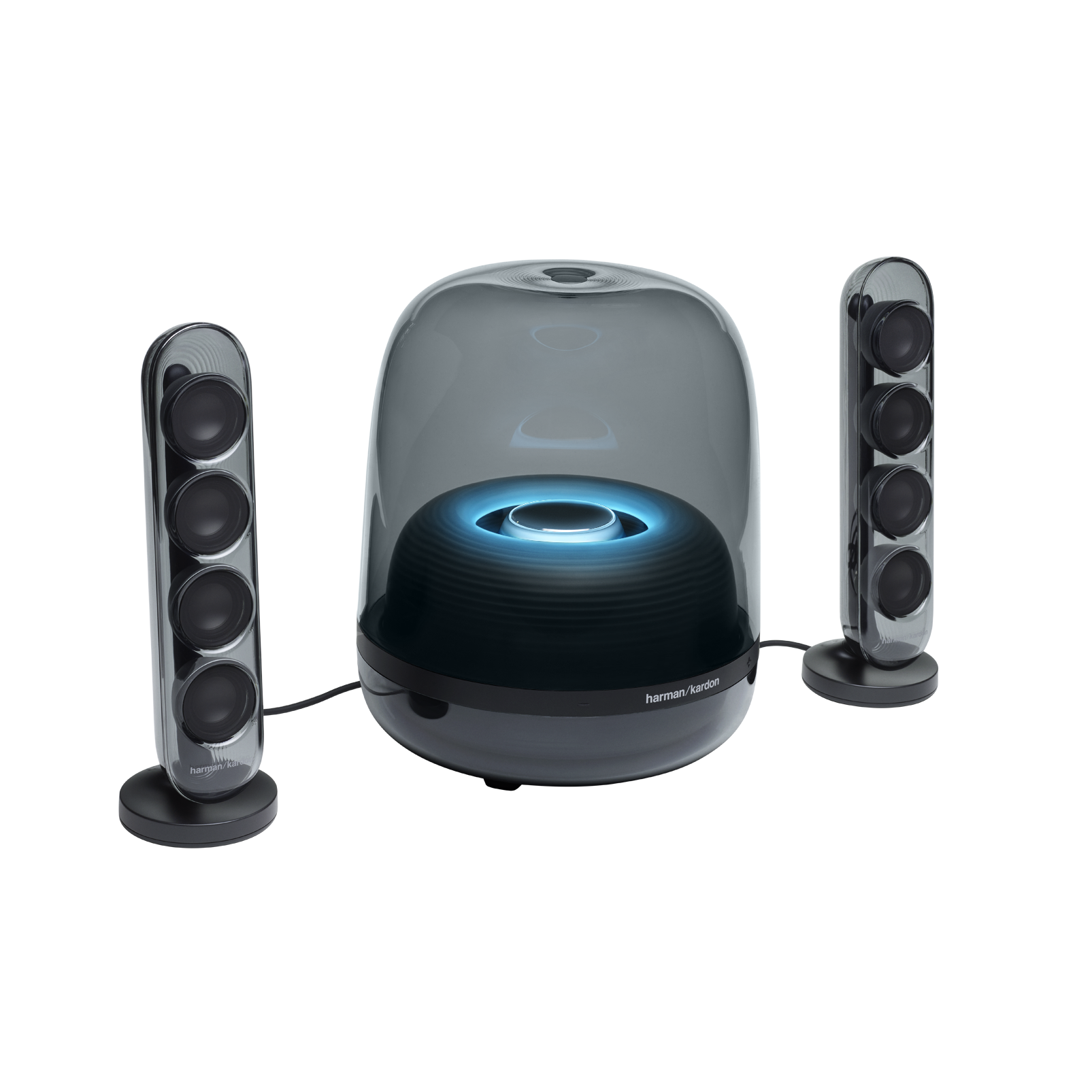 Harman Kardon SoundSticks 4 - Black - Bluetooth Speaker System - Hero