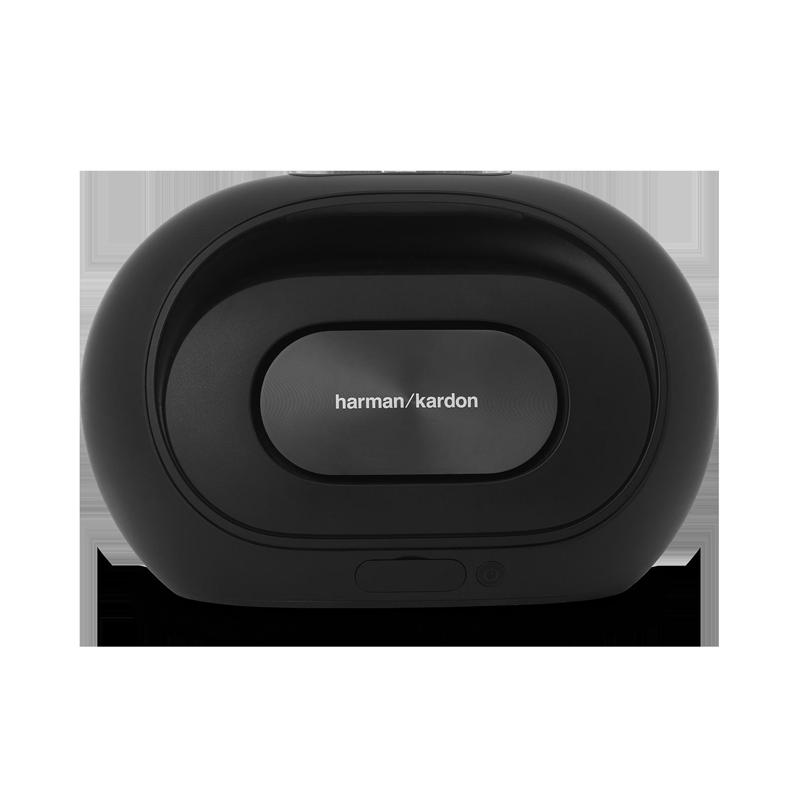 Omni 50+ - Black - Wireless HD Indoor/Outdoor speaker with rechargeable battery - Back