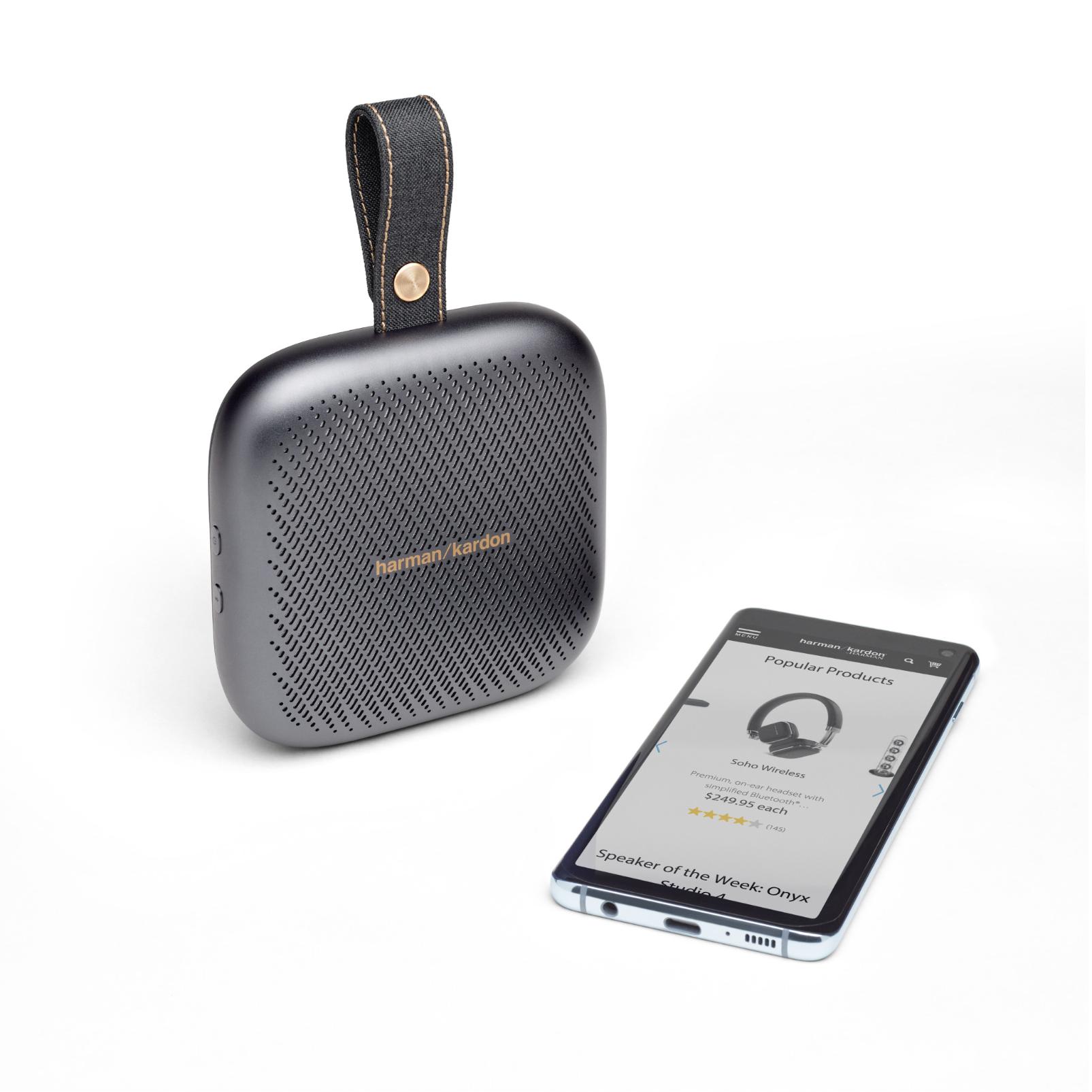 Harman Kardon Neo - Space Gray - Portable Bluetooth speaker - Detailshot 1